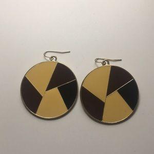 Geometry shaped ear rings
